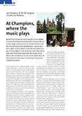 At Champions, where the music plays